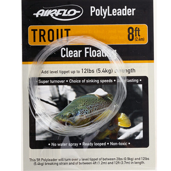 Airflo Polyleader Trout 8ft Extra Super Fast Sink