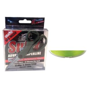 Sufix 832 Braid Lime 120m + Sax 0,20mm/30lb